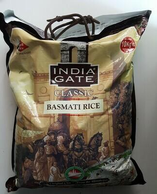 Basmati Rice Classic INDIAN GATE 10Kg