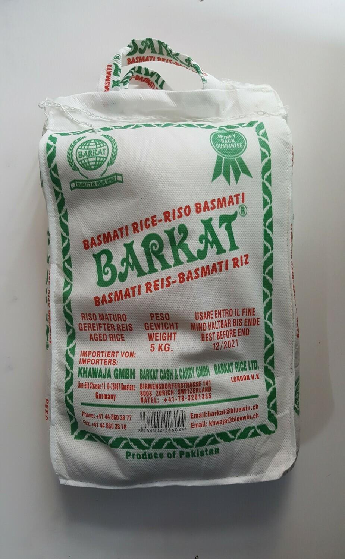 Basmati Rice BARKAT 5Kg