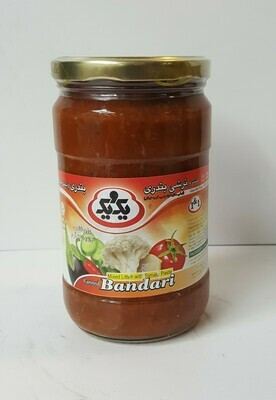 Mixed Litteh with Tomato Paste canned BANDARI