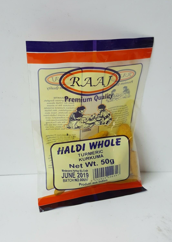 Haldi Whole RAAJ 50 g
