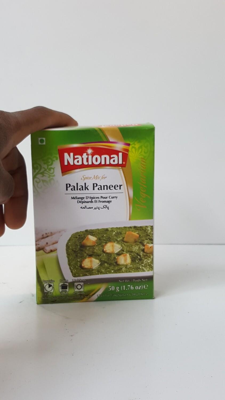 Palak Panner NATIONAL 50 g