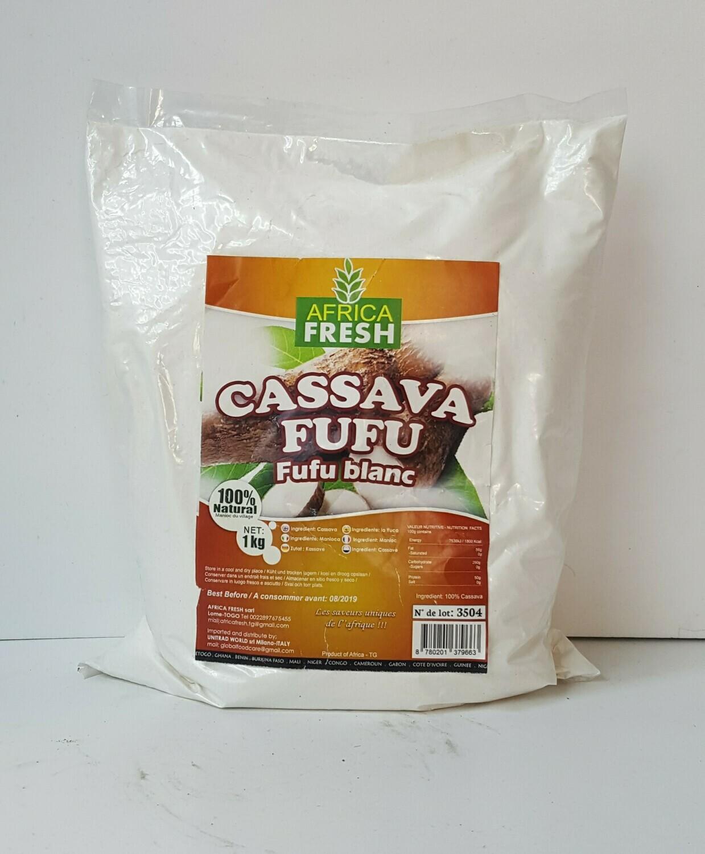Cassava Fufu AFRICA FRESH 1Kg