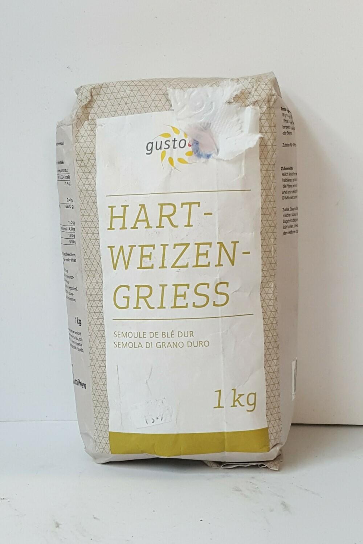 Hart-Weizen-Griess GUSTO 1Kg