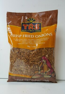 Crisp Fried ONIONS TRS 1Kg