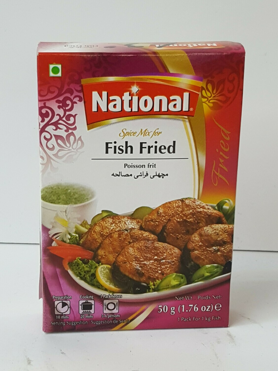 Fish Fried NATIONAL 50 g