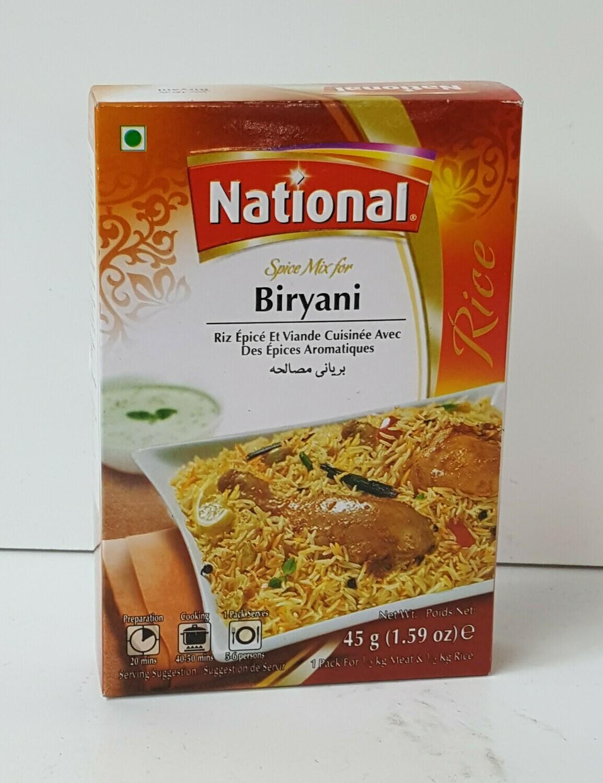 Biryani NATIONAL 45 g