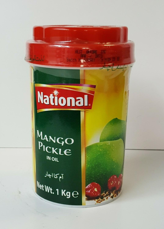 Mango Pickle NATIONAL 1Kg