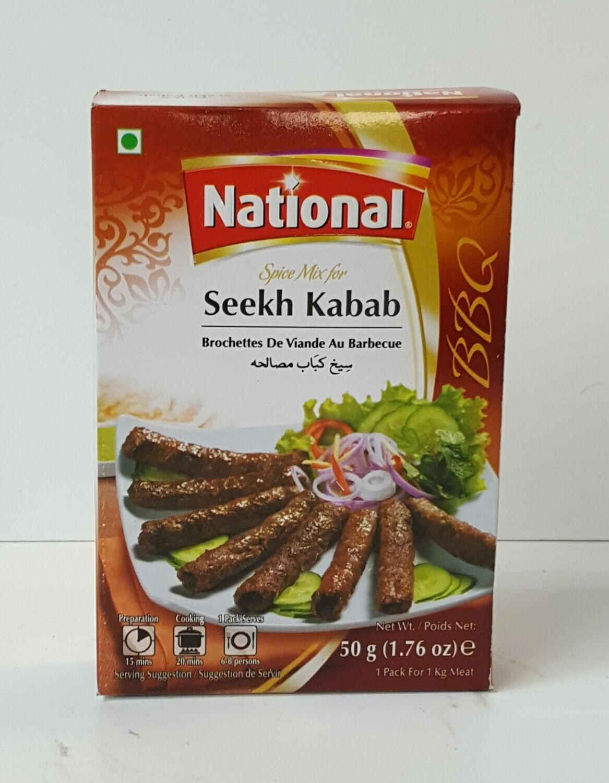 Seekh Kabab NATIONAL 50 g