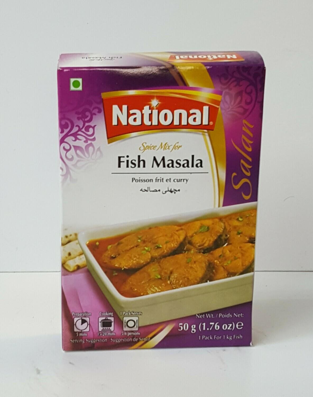 Fish Masala NATIONAL 50 g