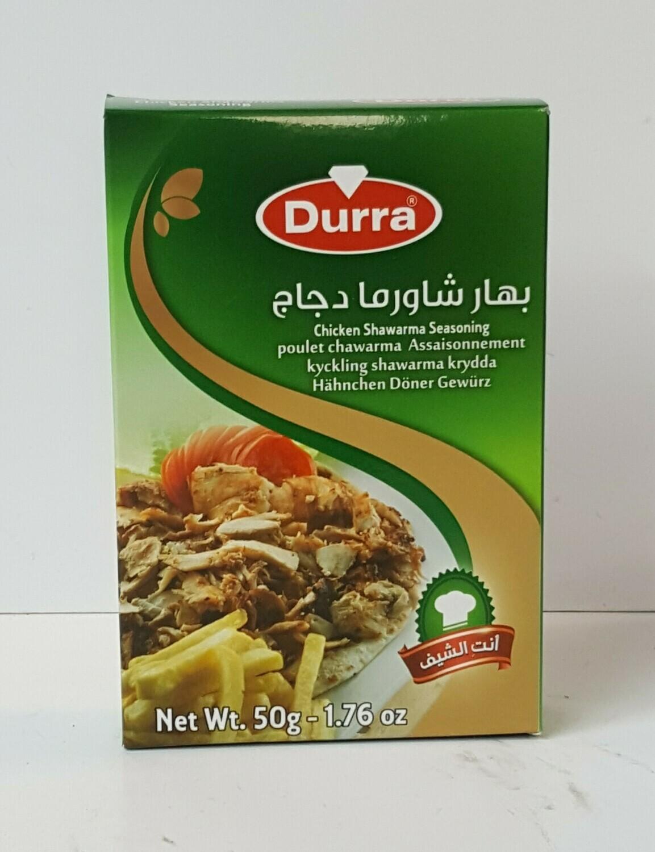 Chicken Sharwarma Seasoning DURRA 50 g