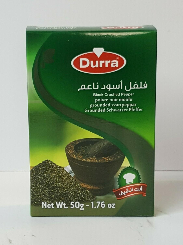 Poivre Noir Moulu DURRA 50 g