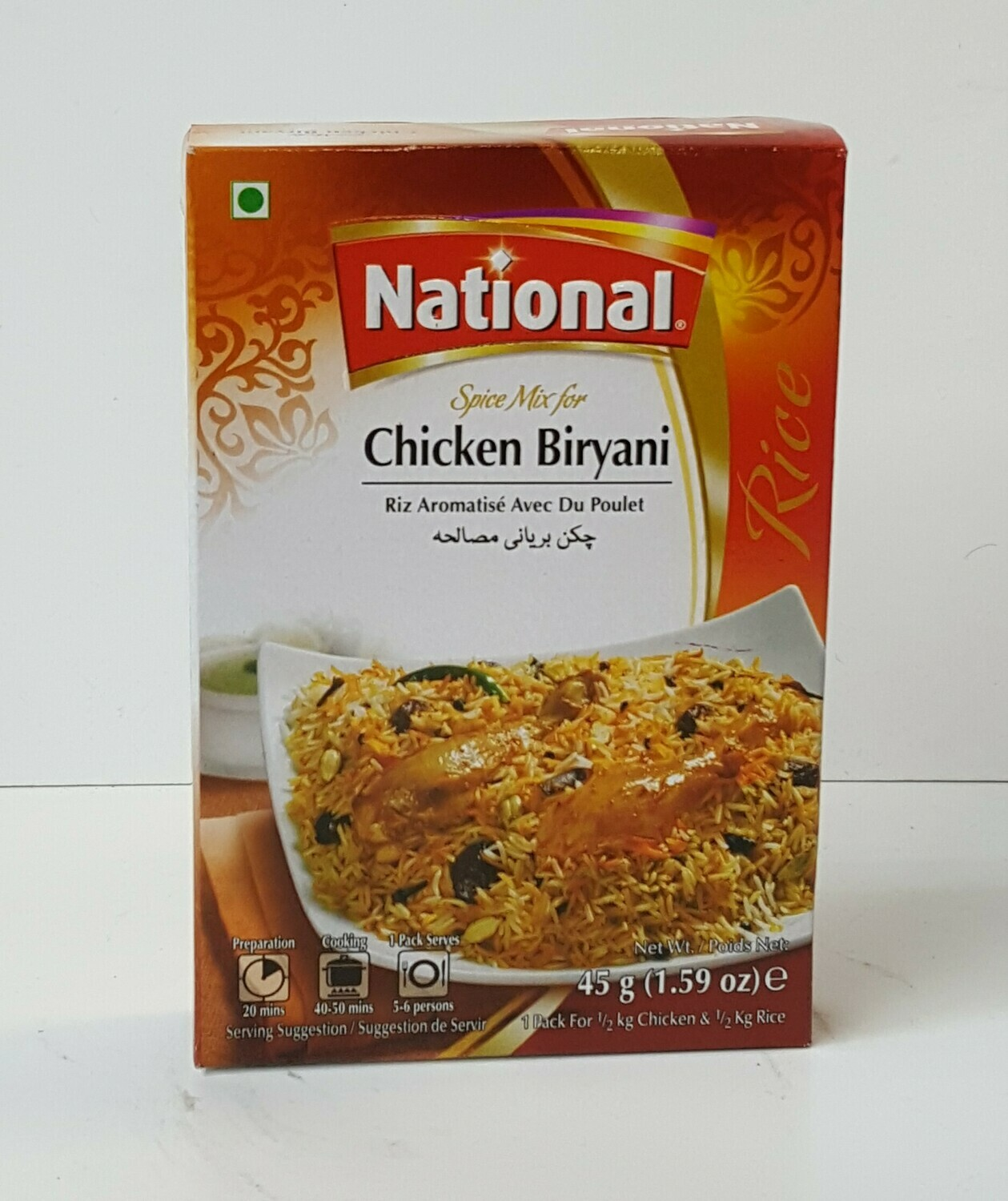 Chicken Biryani NATIONAL 45 g
