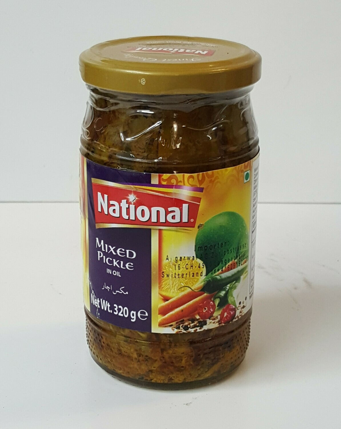 Mixed Pickle NATIONAL 320 g