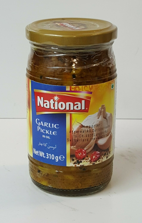 Garlic Pickle NATIONAL 300 g