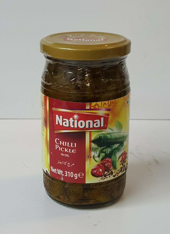 Chilli Pickle NATIONAL 310 g