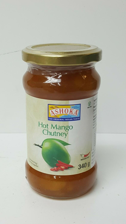 Hot Mango Chutney ASHOKA 340 g