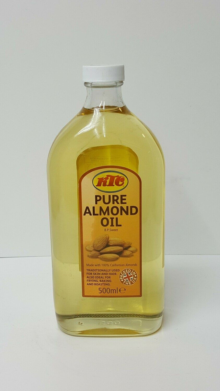 Pure Almond Oil KTC 500 ml