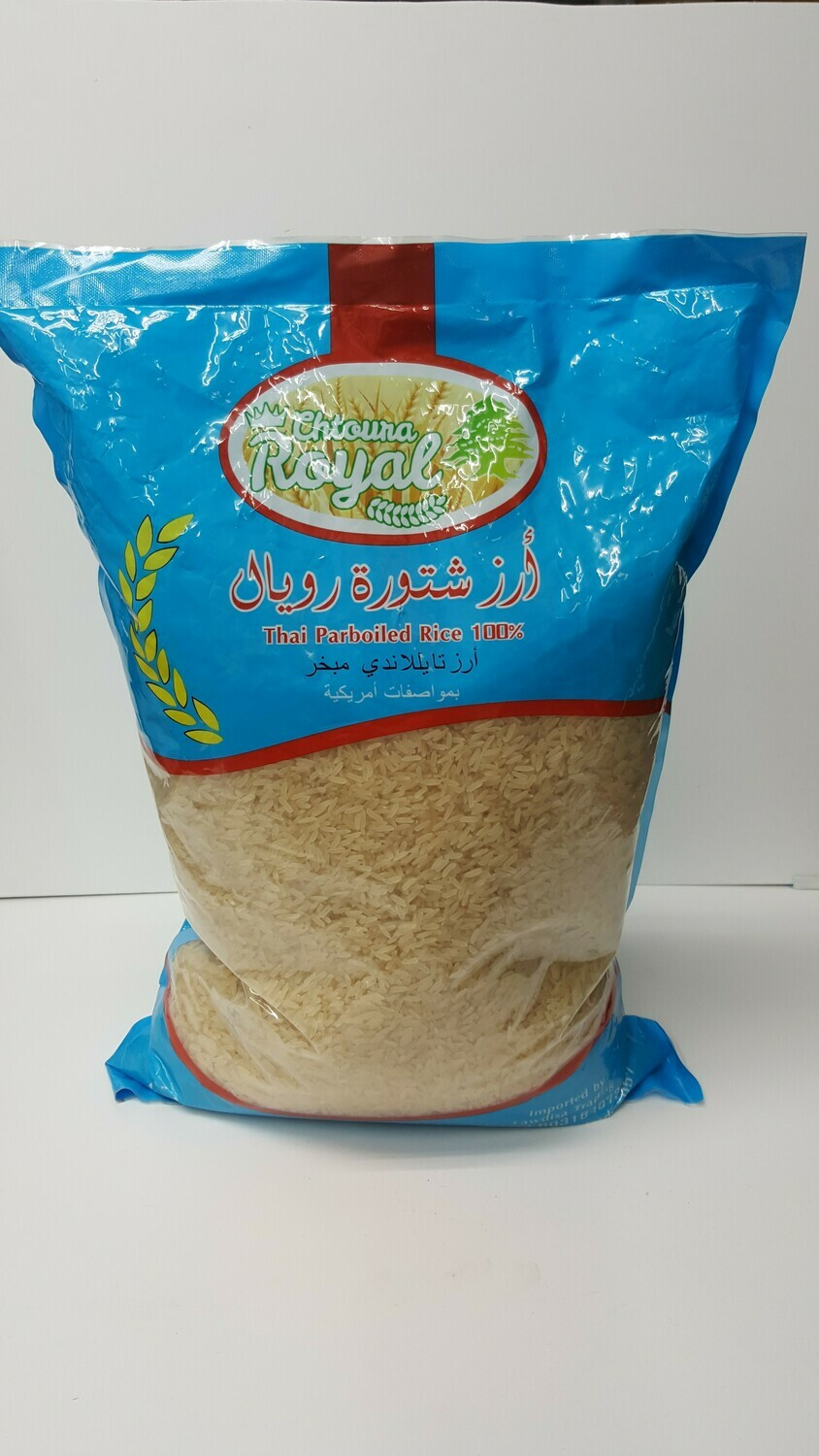Thai Parboiled Rice CHTOUNA RAYAL 5Kg