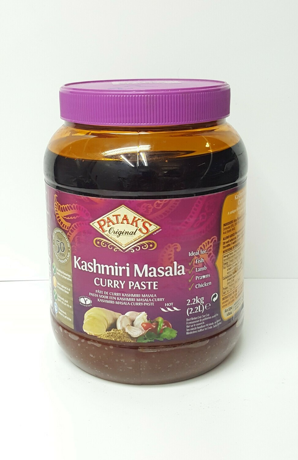 Kashmiri Masala Curry Paste PATAKS 2.2Kg