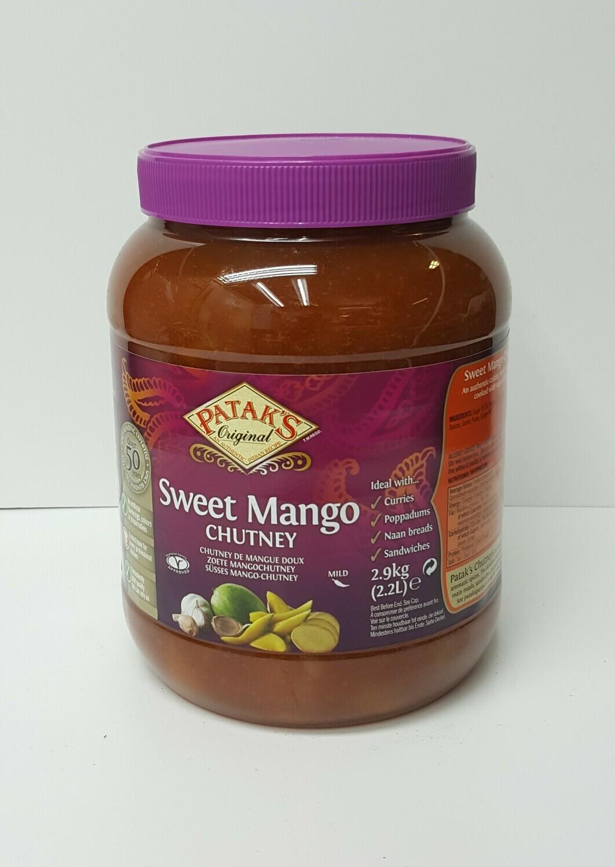 Sweet Mango Chutney PATAKS 2.9 Kg