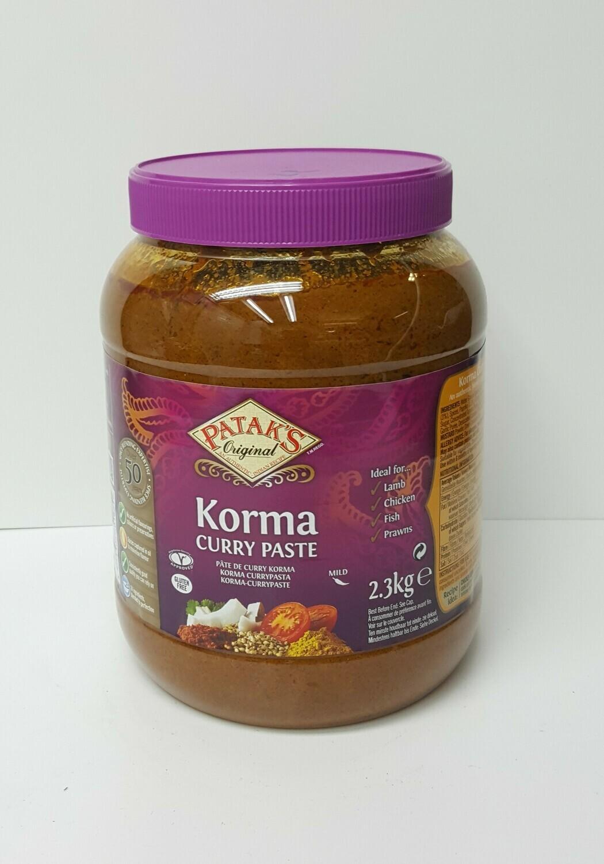 Korma Curry Paste PATAKS 2.3 Kg