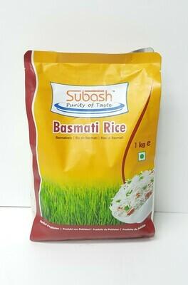 Basmati Rice SUBASH 1Kg