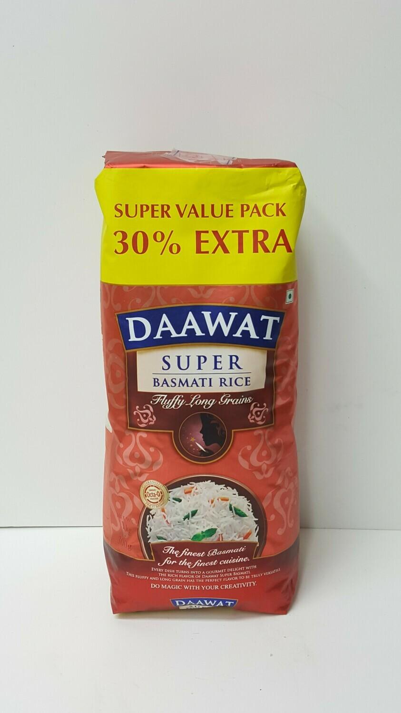 Super Basmati Rice DAAWAT 1Kg