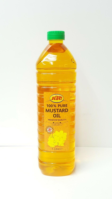 Pure Mustard Oil KTC 1L
