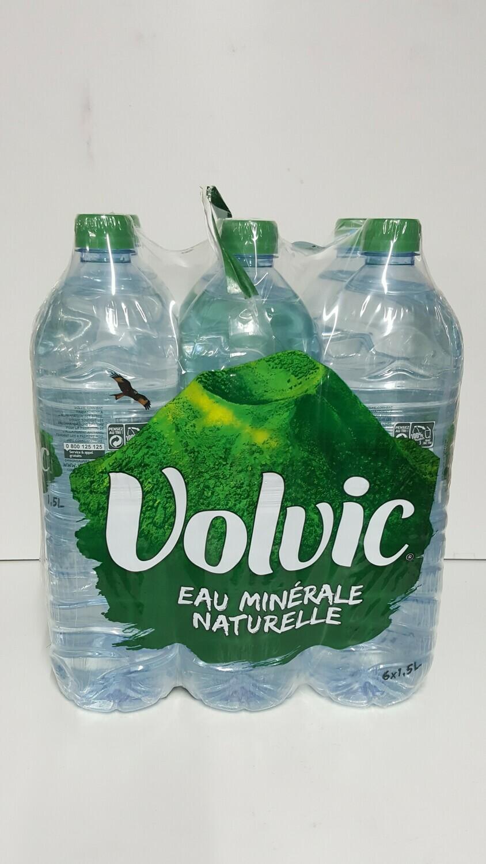 boteille d'eau minéral naturel VOLVIC 1,5L