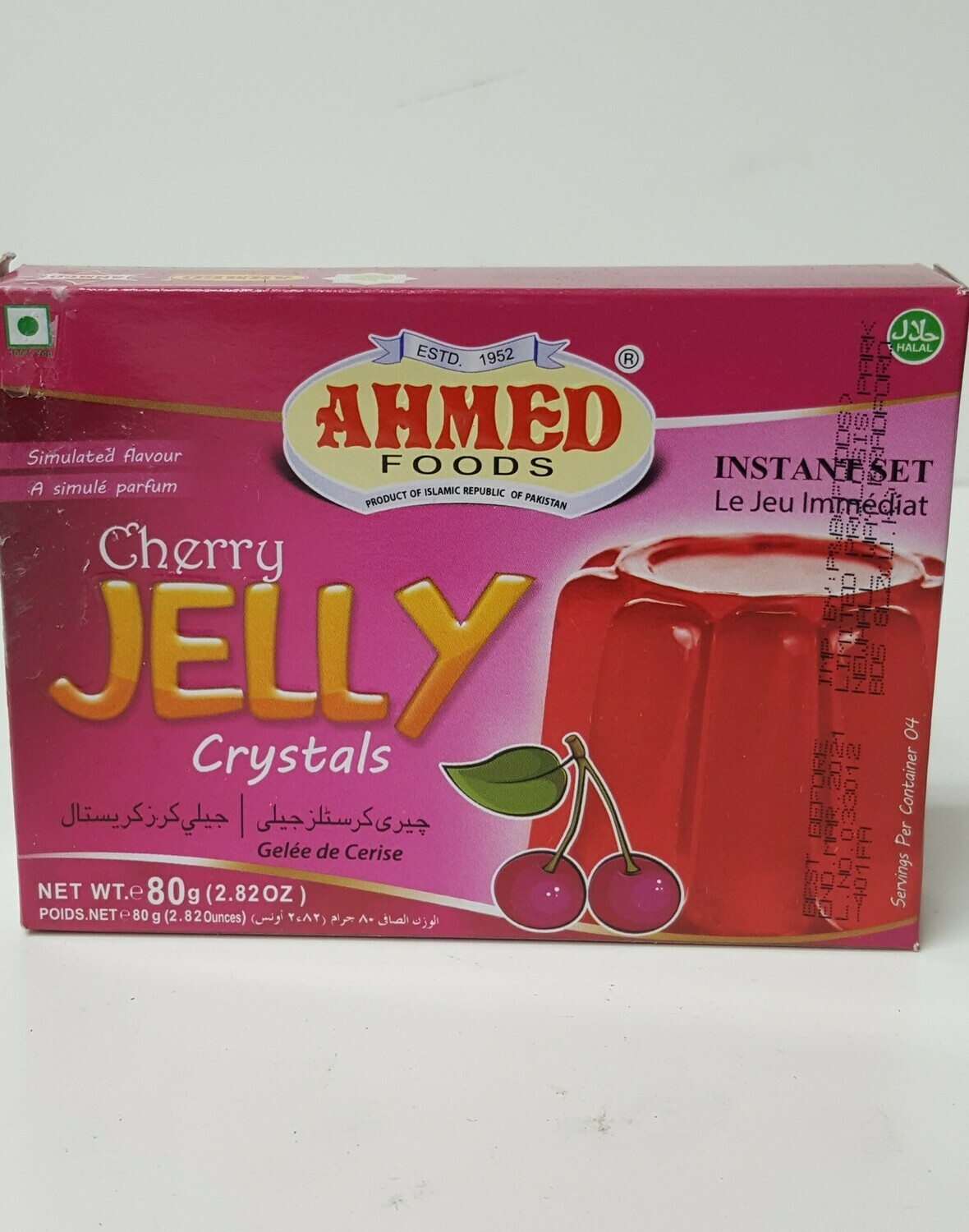 Cherry Jelly CrystalS AHMED 80 g