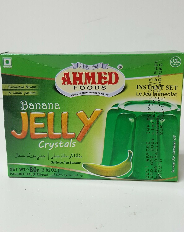 Banana Jelly Crystals AHMED 80 g