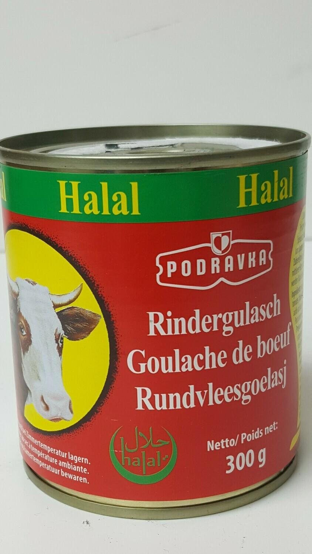 Halal Rindergulasch PODRAVKA 300 g