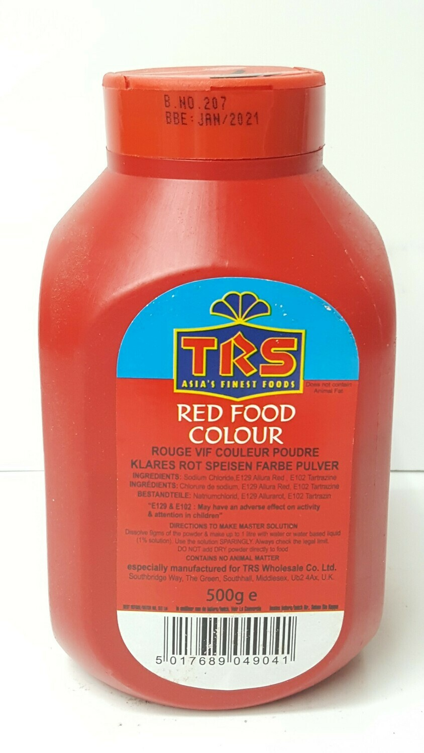 Red Food Colour TRS 500 g