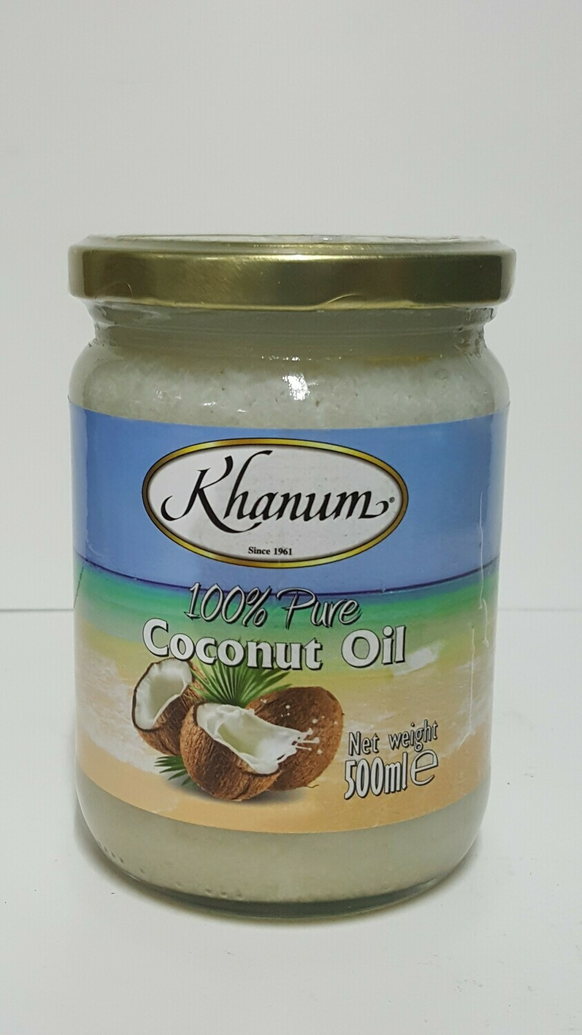 Pure Coconut Oil KHANUM 500 ml