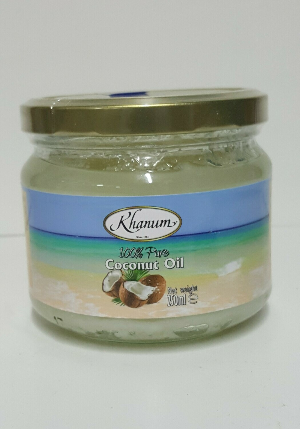 Pure Coconut Oil KHANUM 250 ml