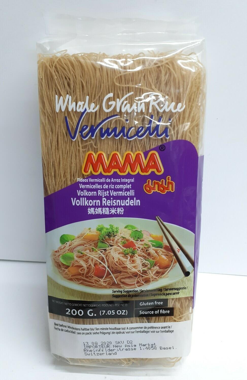 Whole Grain Rice Vermicelli MAMA 200 g