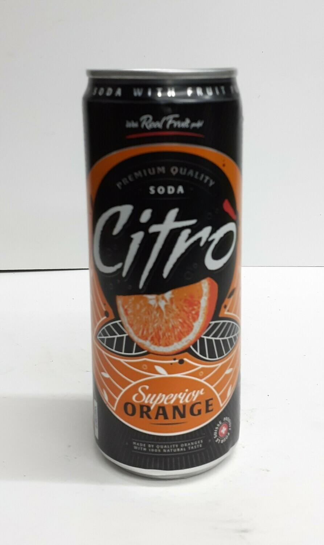 Superior Orange SODA CITRO 330 ml