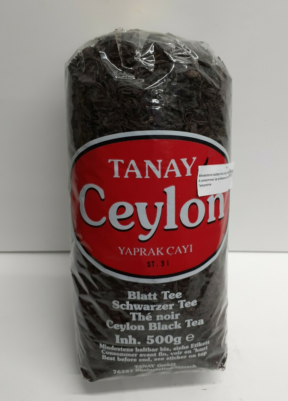Ceylon Black Tea TANAY 500 g