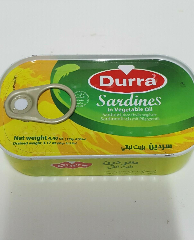 Sardine DURRA 125 g