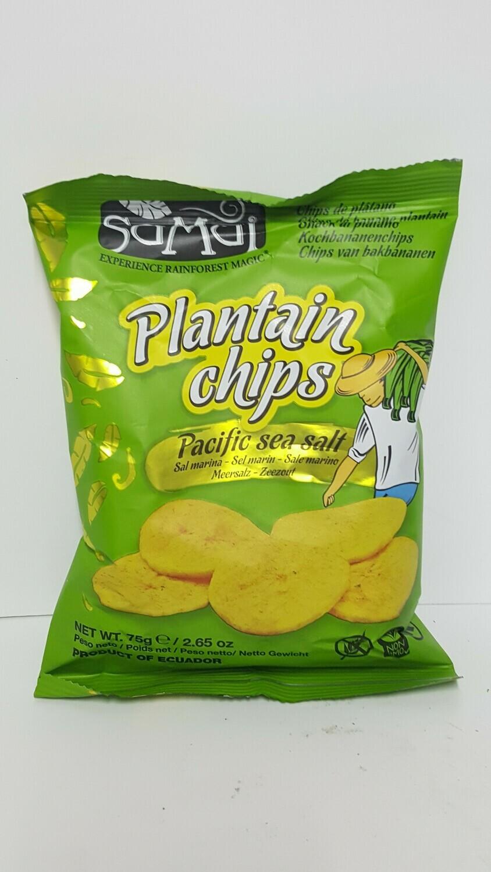 Plantain Chips SAMUI 75 g