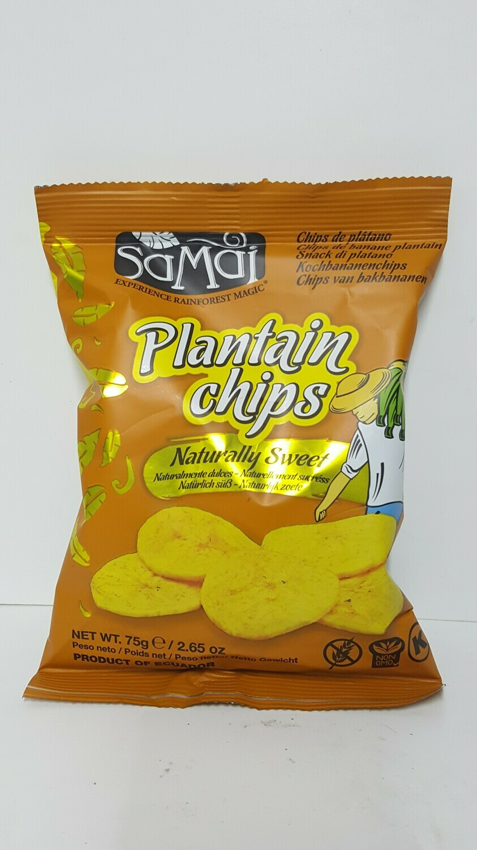 Plantain Chips SAMAI 75 g