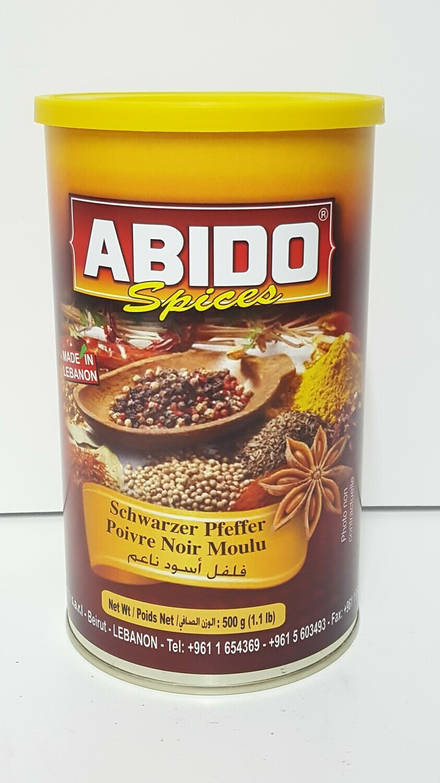 Poivre Noir Mulu ABIDO SPICES 500 g
