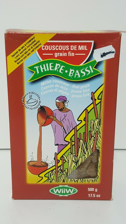 Couscous De Mil Grain Fin THIERE . BASSI 500 g