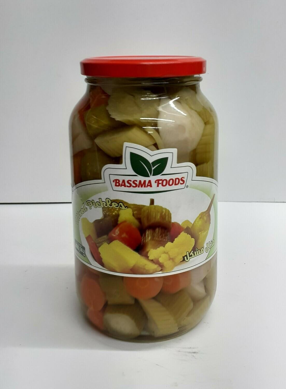 Mixed Pickles BASSMA FOODS 400 g