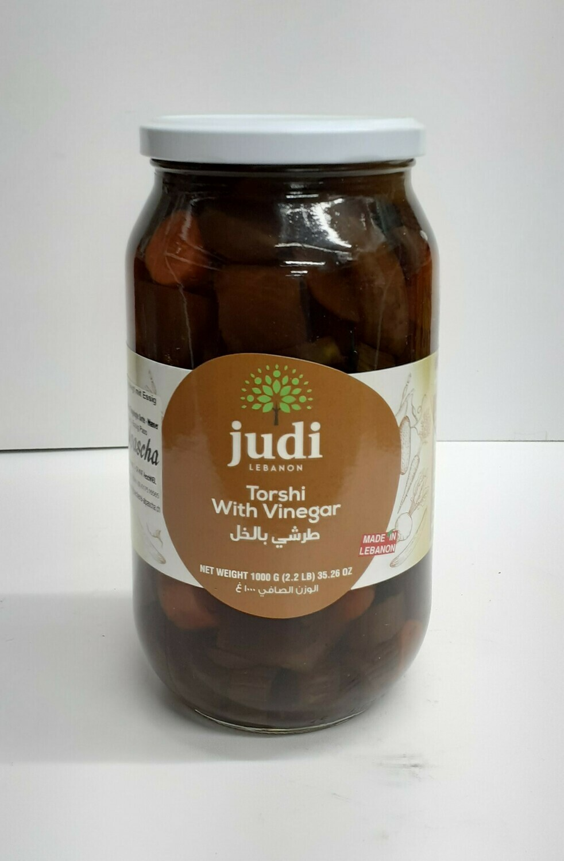 Torshi with Vinegar JUDI LEBANON 1 Kg