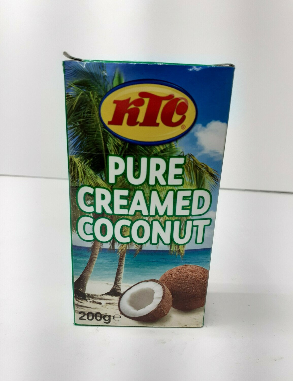 Pure Creamed Coconut KTC 200 g