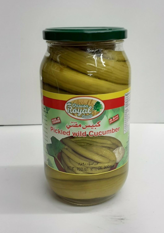 Pickled Wild Cucumber ROYAL 900 g