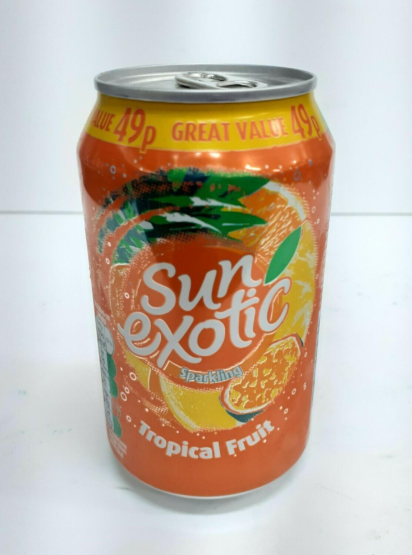 Sparkling Tropical Fruit SUN EXOTIC 0.33 L