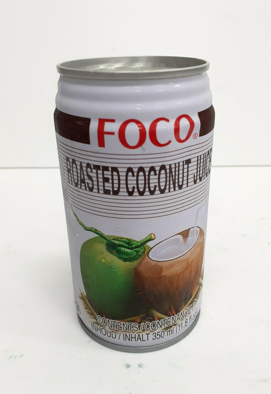 Roasted Coconut Juice FOCO 350 ml