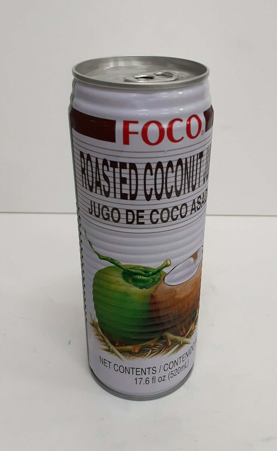 Roasted Coconut Juice FOCO 520 ml